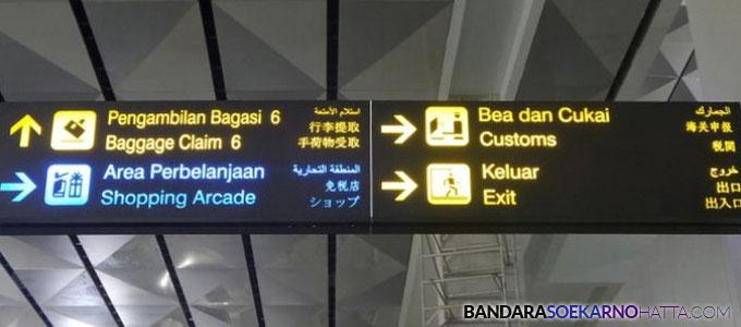 Bandara Internasional Soekarno-Hatta Gangguan Listrik - medan.tribunnews.com