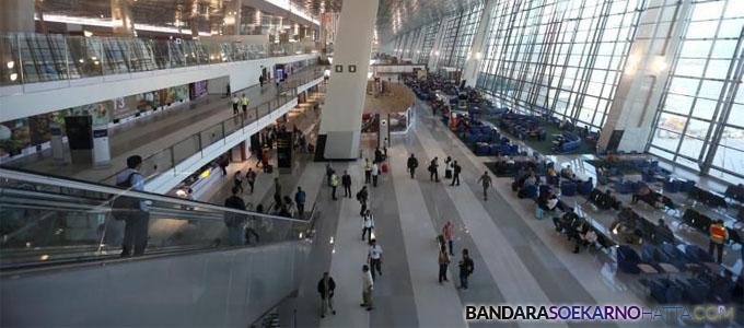 Suasana di Terminal 3 Ultimate Bandara Soekarno-Hatta, Tangerang, Banten - kompas.com
