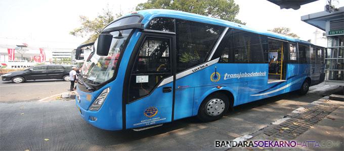 Bus Transjabodetabek - mediaindonesia.com
