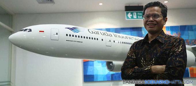 Direktur Utama Garuda Indonesia, Pahala Nugraha Mansury - ekonomi.kompas.com