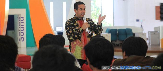 Direktur Utama PT Angkasa Pura (AP) II, Muhammad Awaluddin - subali.org