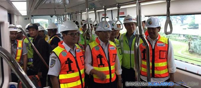 Skytrain Bandara Internasional Soekarno-Hatta Diuji coba - eljohnnews.com