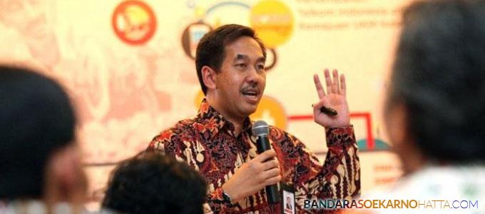 Direktur Utama PT AP II Muhammad Awaluddin - solo.tribunnews.com