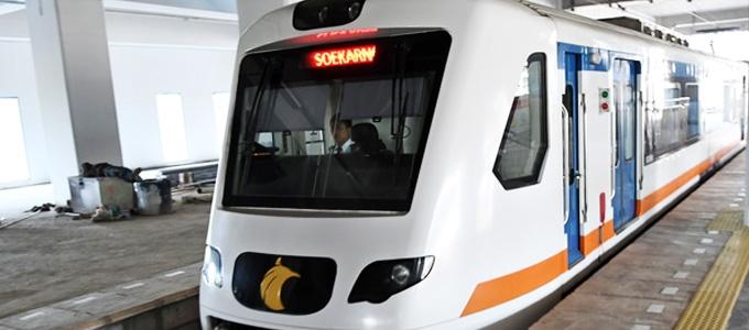 Kereta Api Bandara Internasional Soekarno-Hatta - ekonomi.bisnis.com