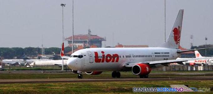 Lion Air di Bandara Jogja