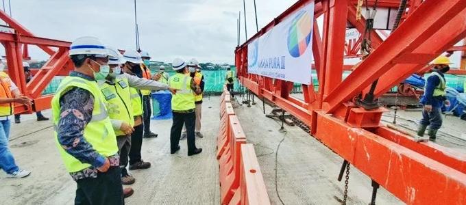 Proyek Pekerjaan Aksesibilitas Bandara Internasional Soekarno-Hatta - www.antaranews.com