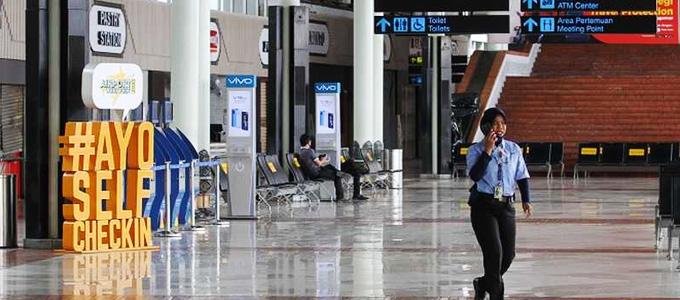 Suasana keamanan di Bandara Soekarno Hatta - investor.id