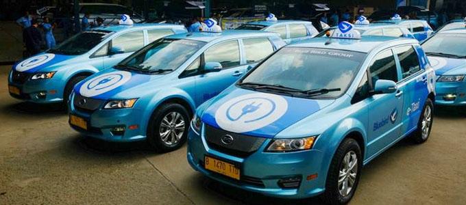 Taksi Listrik Bandara Soekarno-Hatta - ekonomi.bisnis.com