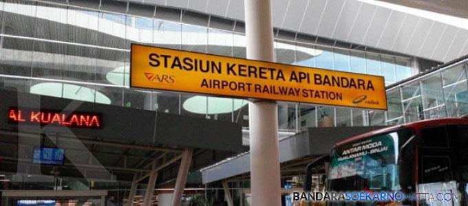 Stasiun Kereta Api Bandara - kontan.co.id
