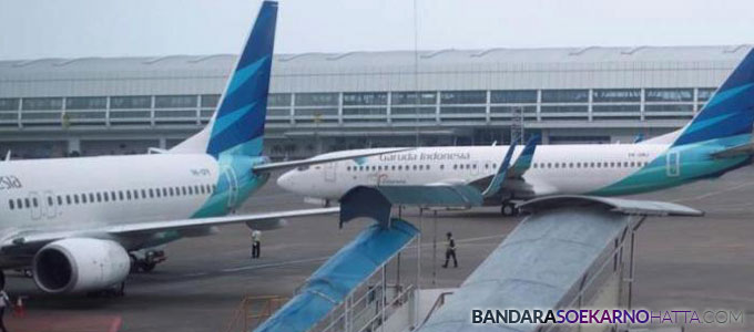 garuda indonesia bandara soekarno-hatta - tribunnews.com