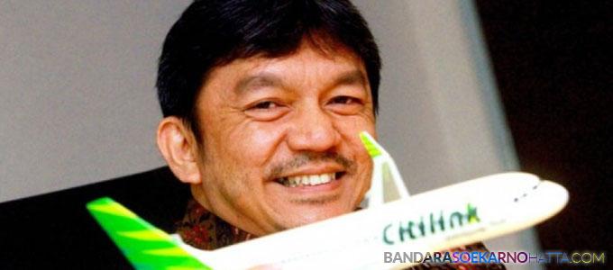 president & CEO citilink indonesia albert burhan - www.beritasatu.com
